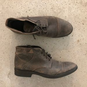 Clark leather boots